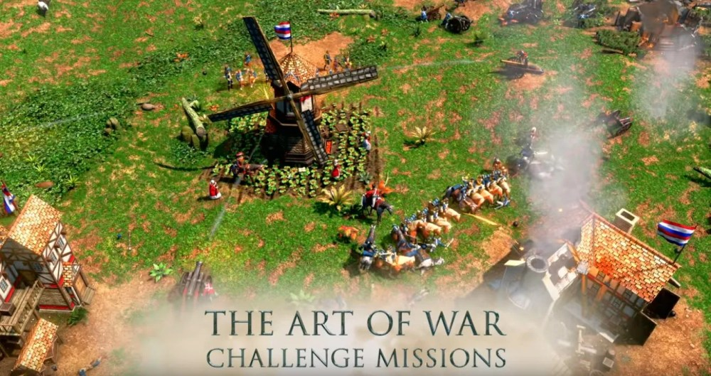 modo de juego arte de guerra en Age of Empires III: Definitive Edition