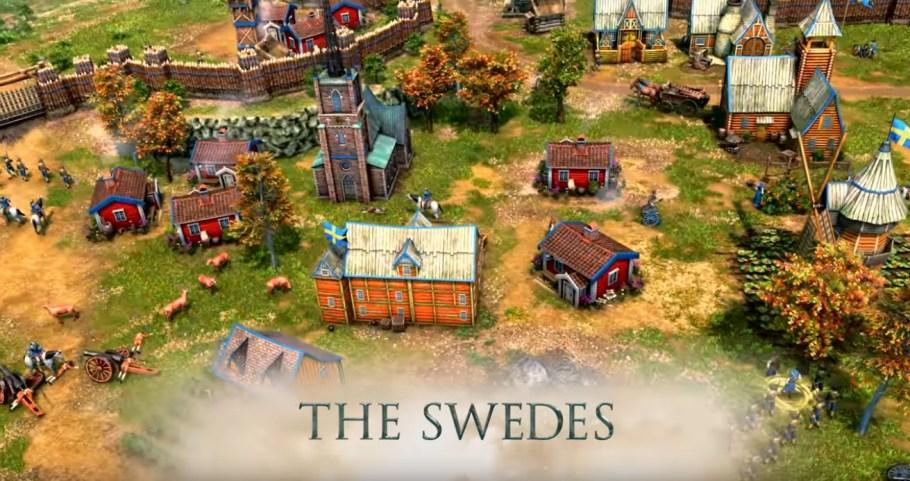 suecos en Age of Empires III: Definitive Edition