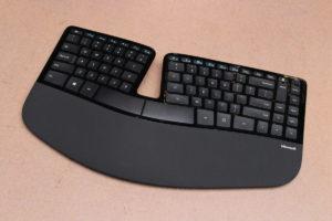 teclado ergonomía trabajo remoto