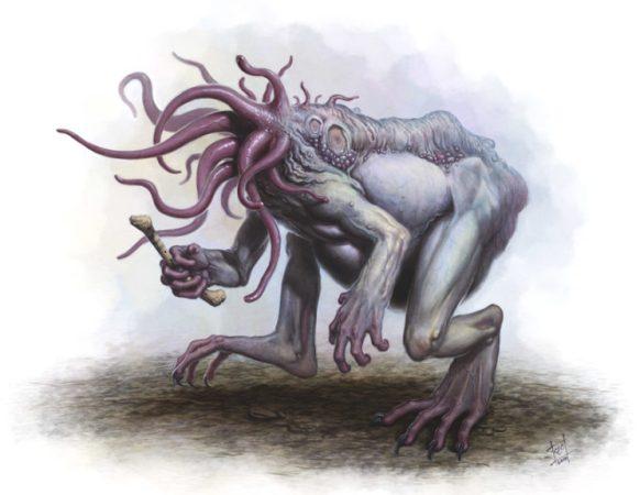 Lovecraft Bestia lunar