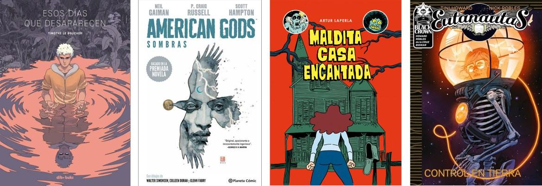 Comics marzo 19