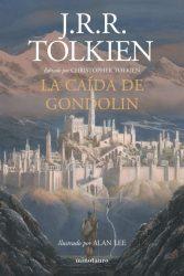 Portada La Caída de Gondolin, Tolkien