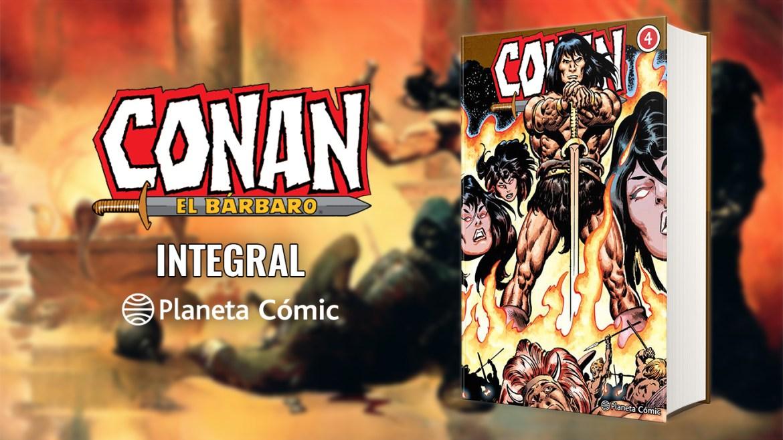 Conan el bárbaro integral 4
