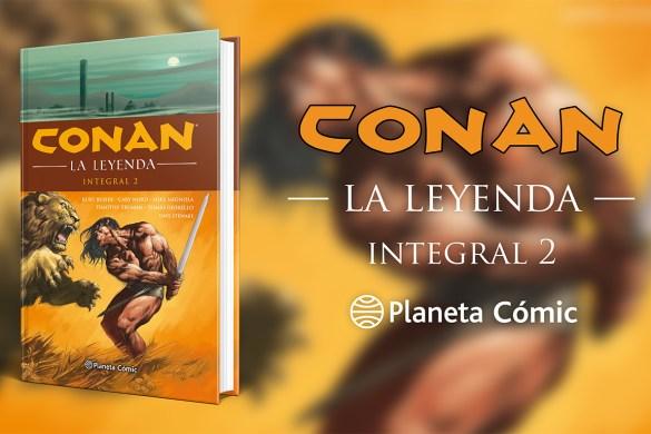 Conan la leyenda integral 2
