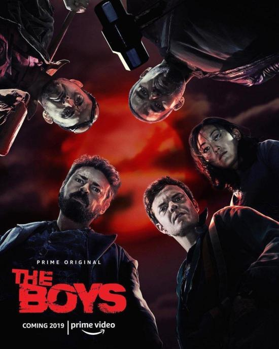 Cartel Serie The Boys