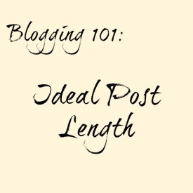 Ideal Post Length