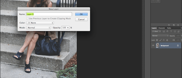 how to make a crop layer in photoshop
