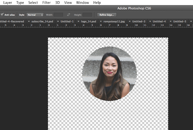 How to Crop a Circle in Photoshop -