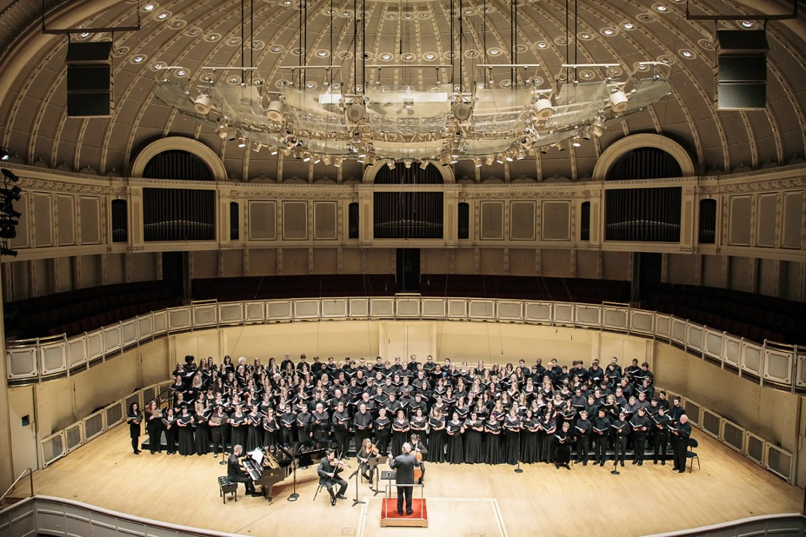 Windy City Choral Festival Performance