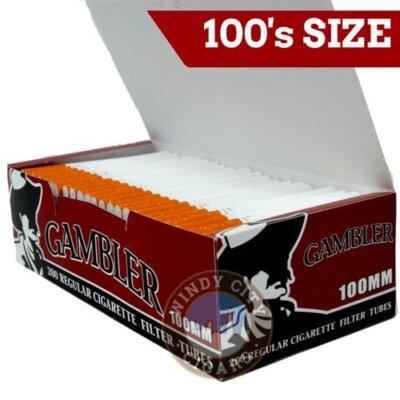 gambler tubes 100 size