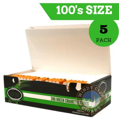 100's Cigarette Tubes