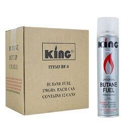 King Butane Refill For Lighters