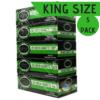green cigarette tubes