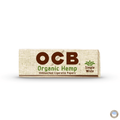 OCB Rolling Papers - Organic Hemp Single Wide