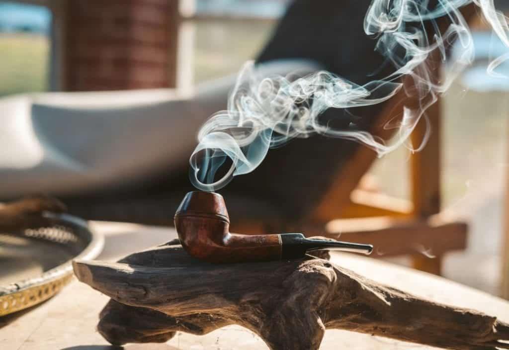 smoking pipe tobacco