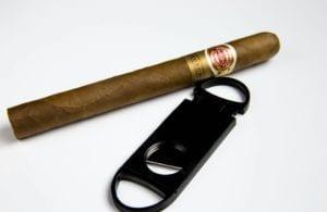 Correct way to smoke a cigar