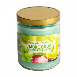 Honeydew melon smoke odor candle