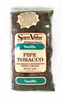 Super Value Vanilla Pipe Tobacco - 12 Oz