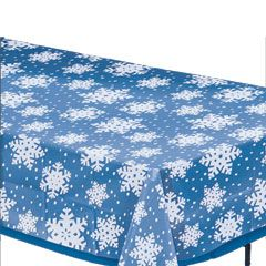 Snowflake Overlay Table Cover  Windy City Novelties