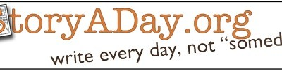 Story A Day May coming soon!