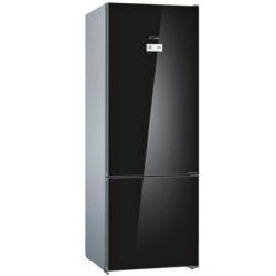 Bosch Serie 6 Bottom freezer, glass...
