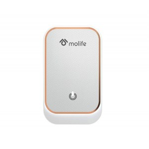 Molife Radiant 3.4 Smart Wall Charge Adapter with Ambience Light