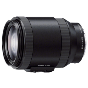 Sony SEL-P18200 E PZ 18-200 mm F3.5-6.3 OSS Lens (Black)