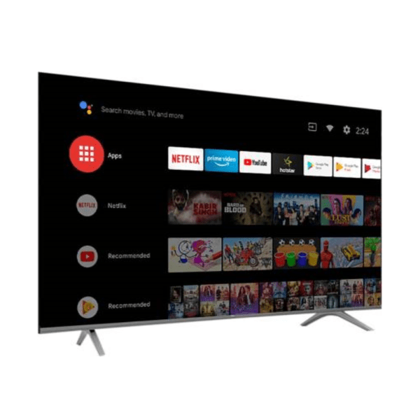 Vu (65 inches) 4K Ultra HD Smart Android LED TV With 5-Hotkeys ( 65UT , Black )