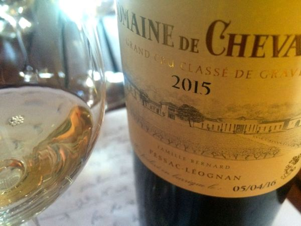 Excellent white Domaine Chevalier