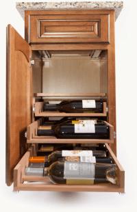 In Cabinet Wine Racks by Wine Logic >> Kitchen Storage ...