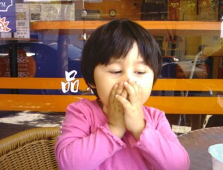 Speak no evil: I borrowed this cutie pic from http://www.chrisyeh.com/jason.html