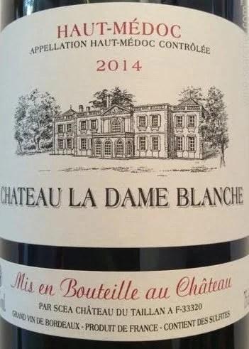 Le Chateau De La Dame Blanche : chateau, blanche, Chateau, Blanche, Rouge,, Haut-Medoc, Prices,, Stores,, Tasting, Notes, Market