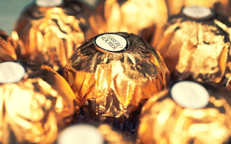 golden wrapper