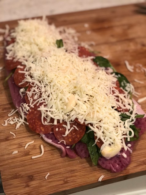 slow cooker stuffed italian pork tenderloin