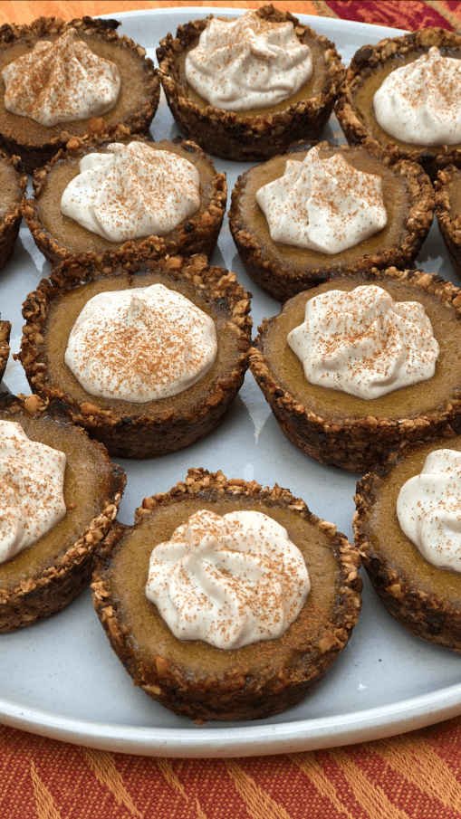 homemade vegan pumpkin pie with gluten free crust