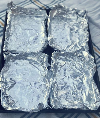 How to make your foil packet meals with aluminum foil