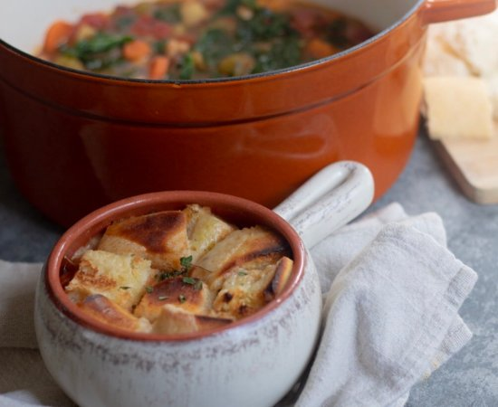 Ribollita Soup (Tuscan Vegetable Soup)