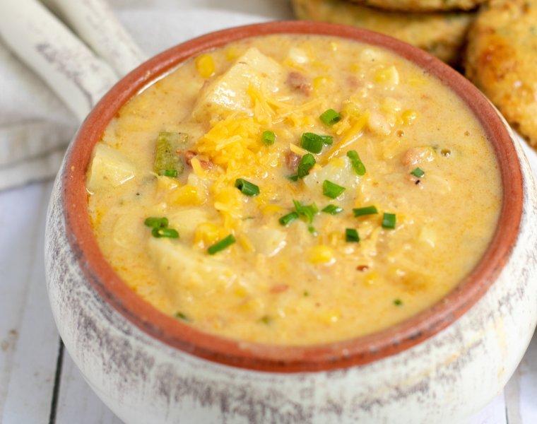 Creamy Summer Corn Chowder