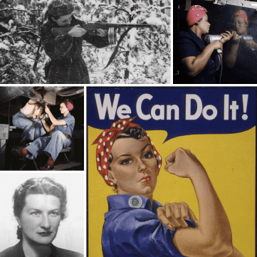 Ep152 Rosie the Riveter Crimes collage