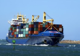 Ship Holding Containers