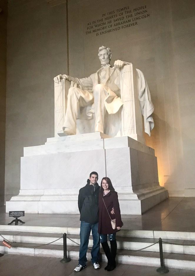 The Lincoln Monument Washington DC