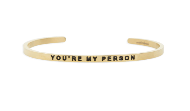 Valentine's Day gift guide - mantra band