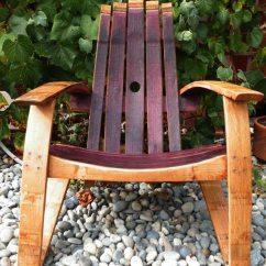 Adirondack Wine Barrel Chairs Chair Seat Covers Amazon Original The