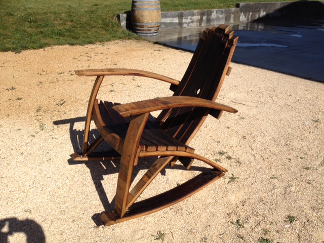 wine barrel chair king hickory chairs original adirondack the rocking
