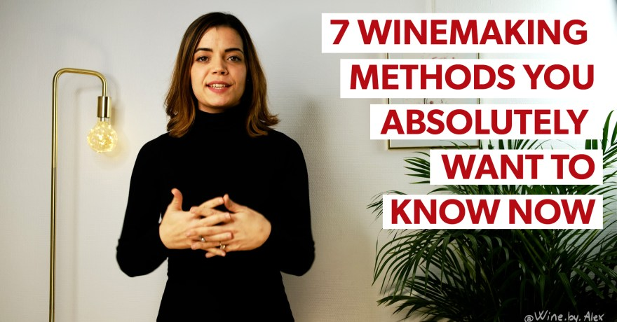 Alexia Hupin presenting winemaking methods you want to know now