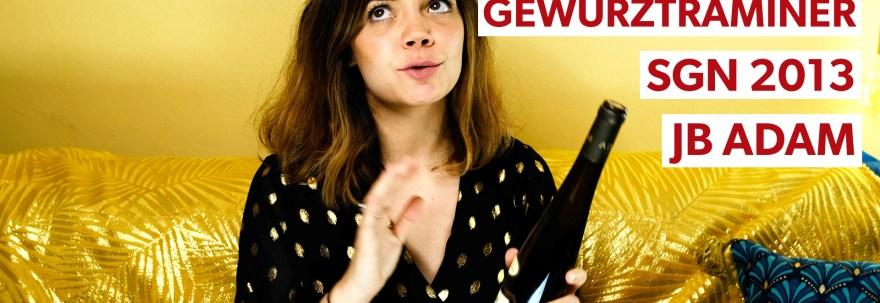 taste with alex Gewürztraminer SGN 2013
