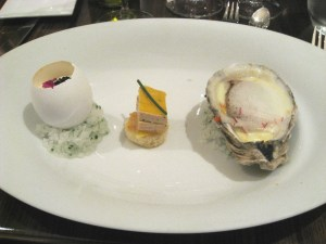 Review of a Georges Laval Champagne Wine Dinner with Vincent Laval at Olea