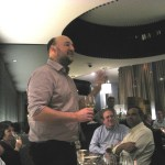 Review of a Georges Laval Champagne Wine Dinner with Vincent Laval at Olea, Wine Casual