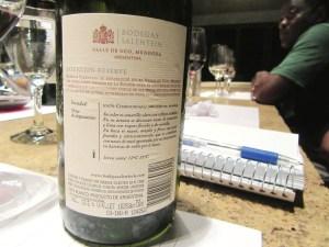 Bodegas Salentein, Reserve Chardonnay 2013, Uco Valley, Mendoza, Argentina, Wine Casual