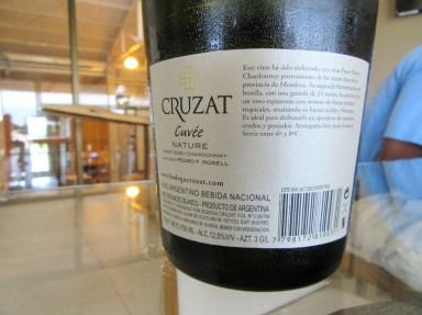 Cruzat, Nature Cuvée, Tupungato, Uco Valley, Mendoza, Argentina, Wine Casual